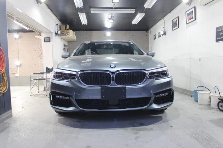 BMW5シリーズコーティング施工前