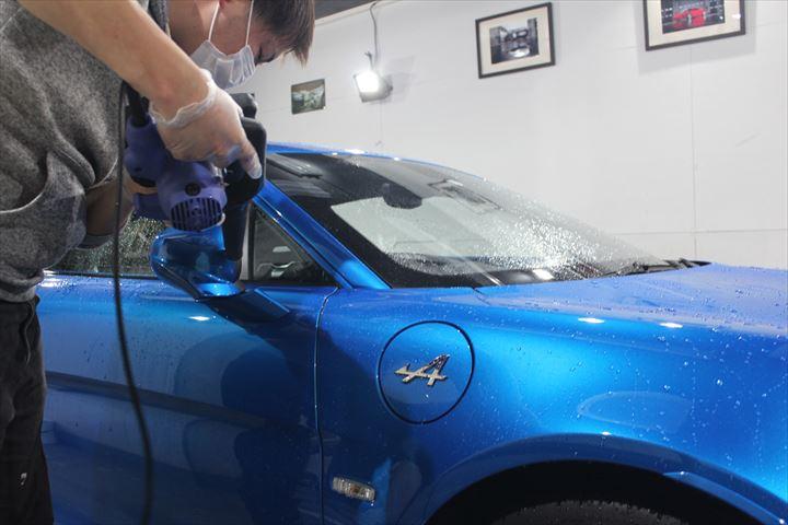 カーコーティング前の洗車方法