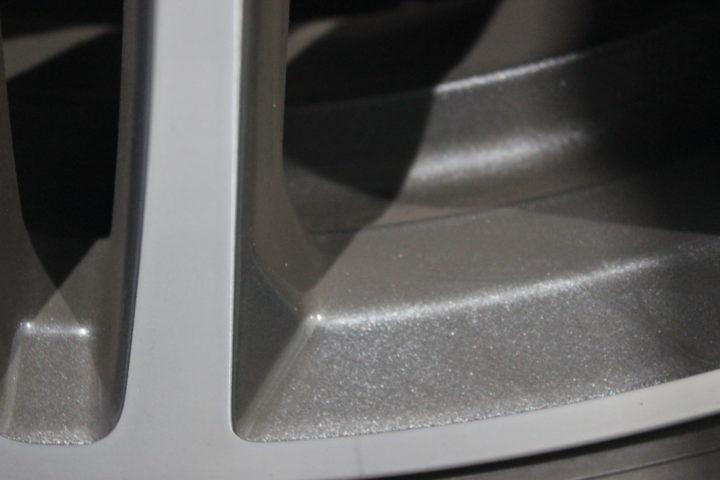 BMWのホイールのブレーキダスト
