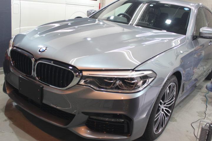 BMWの硬化型コーティング施工