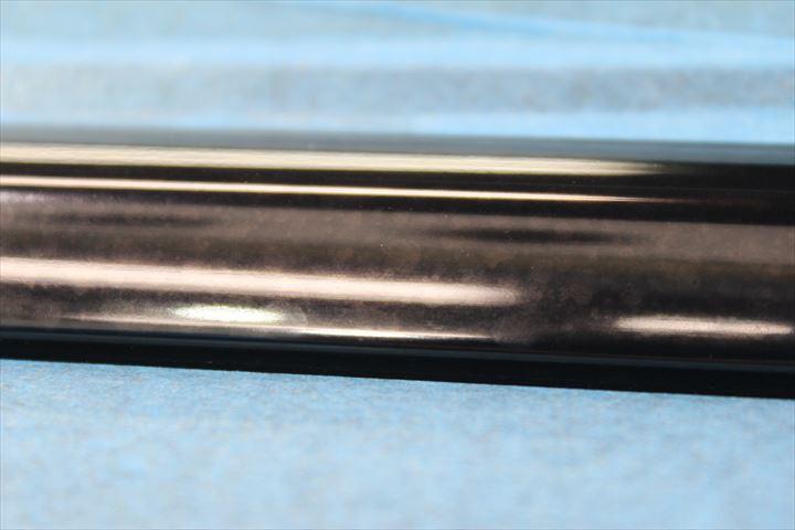 ブラックアルマイトのくすみの復元方法