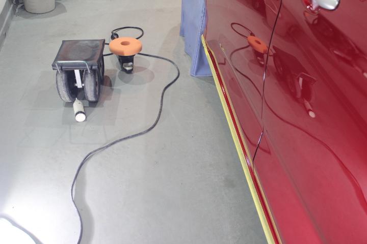 新車の再塗装の責任