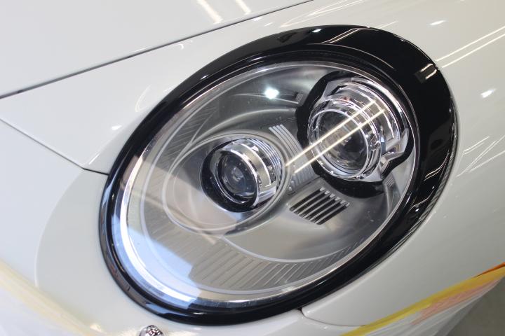 ポルシェ997のヘッドライト
