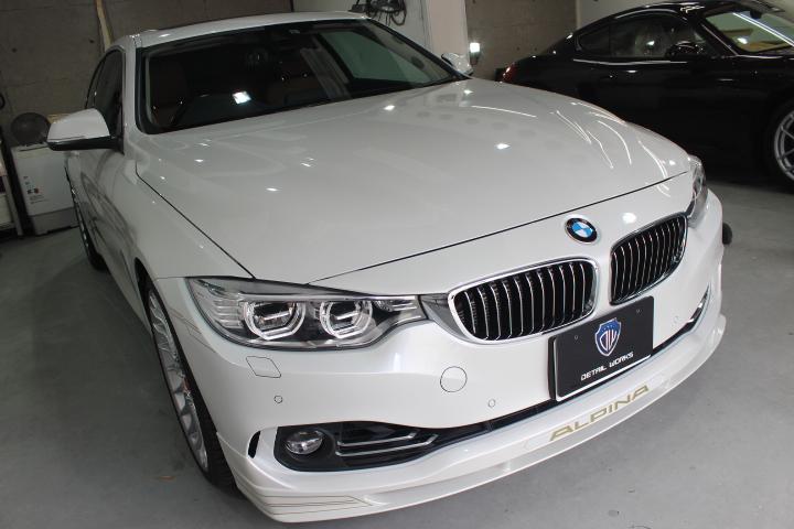 BMW3アルピナのボディコーティング